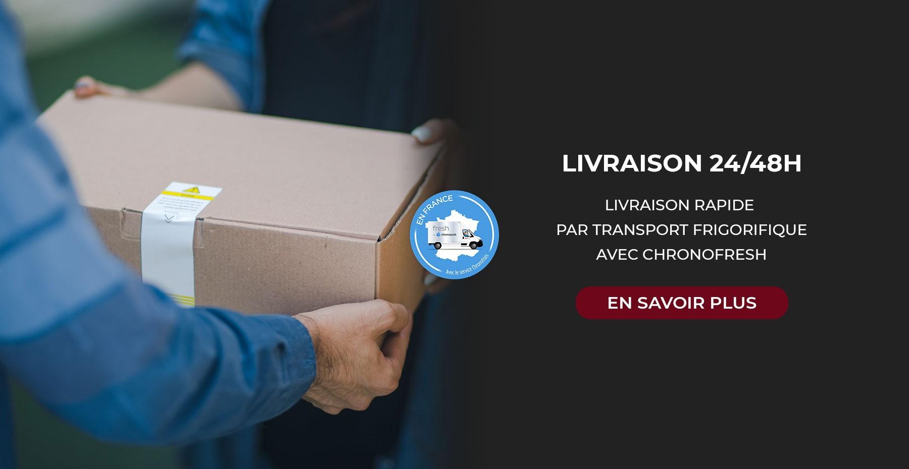 livreur chronofresh livraison produits frais par chronopost