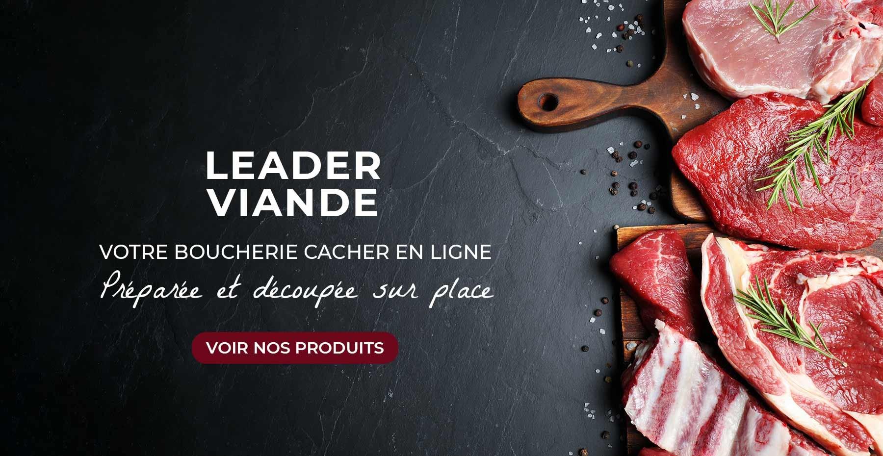 viandes casher origine france vente en ligne leader viande